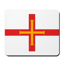 Guernsey Flag Mousepad
