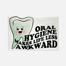 Oral Hygiene Rectangle Magnet