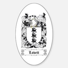 Lovett Sticker (Oval)