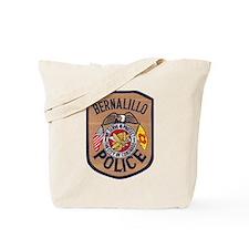 Bernalillo New Mexico Police Tote Bag