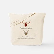 Pseudoscorpions Tote Bag