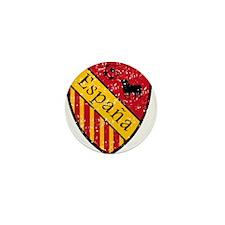 Spain Crest Mini Button
