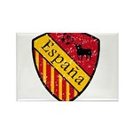 Spain Crest Rectangle Magnet (100 pack)