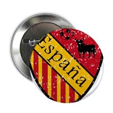 "Spain Crest 2.25"" Button (10 pack)"