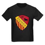 Spain Crest Kids Dark T-Shirt