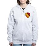 Spain Crest Women's Zip Hoodie
