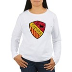 Spain Crest Women's Long Sleeve T-Shirt