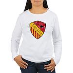 Spain Crest Women's Long Sleeve T-Shirt
