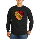 Spain Crest Long Sleeve Dark T-Shirt