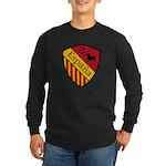 Spain Crest Long Sleeve Dark T-Shirt