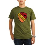 Spain Crest Organic Men's T-Shirt (dark)