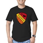 Spain Crest Men's Fitted T-Shirt (dark)