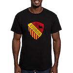 Spain Crest Men's Fitted T-Shirt (dark)