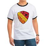 Spain Crest Ringer T
