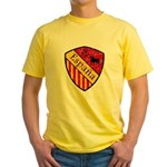 Spain Crest Yellow T-Shirt
