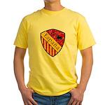 Spain Crest Yellow T-Shirt