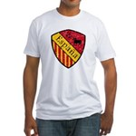 Spain Crest Fitted T-Shirt
