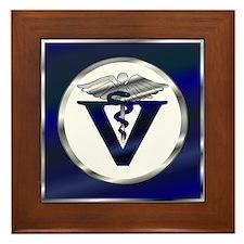 Veterinarian Framed Tile