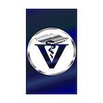 Veterinarian Sticker (Rectangle 50 pk)