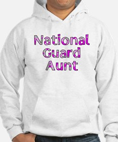 National Guard Aunt Pink Camo Hoodie