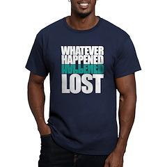Whatever Happened Men's Fitted T-Shirt (dark)