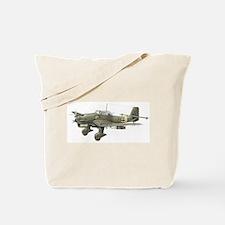JU-87 Stuka Bomber Tote Bag