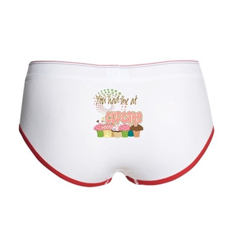 You Had Me At Cupcake Women's Boy Brief