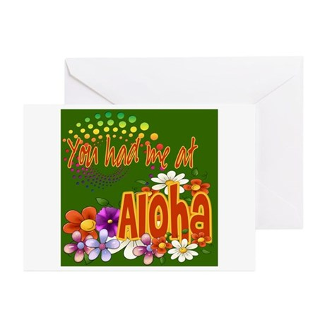 You Had Me At Aloha Greeting Cards (Pk of 10)