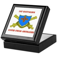 1st Battalion - 410th Field Artillery with Text Ke