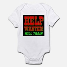 Help Wanted! Will Train Infant Creeper