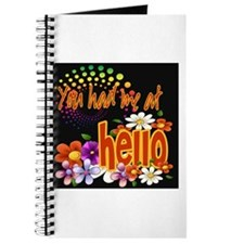 You Had Me At Hello Journal