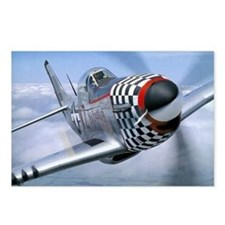 P-51 Mustang Coming at You Postcards (Package of 8