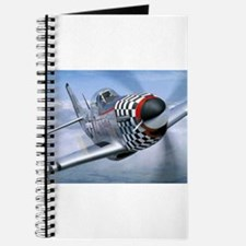 P-51 Mustang Coming at You Journal