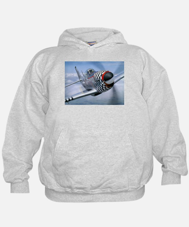 P-51 Mustang Coming at You Hoodie