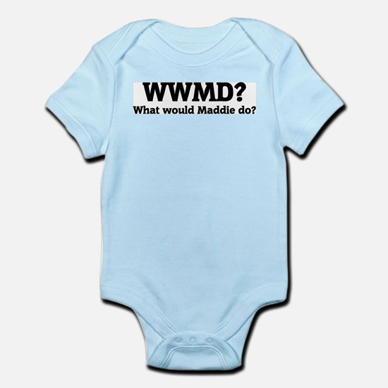 What would Maddie do? Infant Creeper