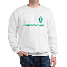 Star Trek - Borg Logo green Sweatshirt