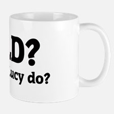 What would Lucy do? Mug