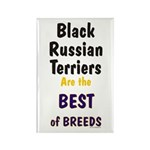 Black Russian Terrier Best Breed Rectangle Magnet