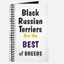 Black Russian Terrier Best Breed Journal