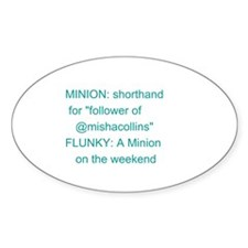 Minion Glossary Decal