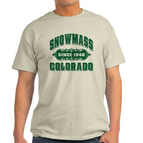 Snowmass Since 1946 Green Light T-Shirt