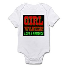 Girl Wanted! Love & Romance Infant Creeper