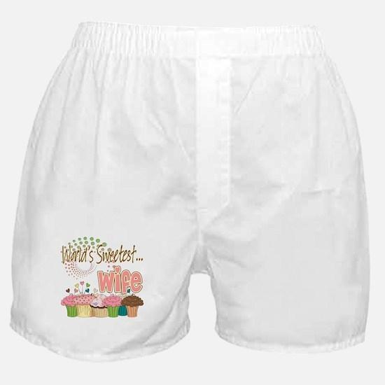 World's Sweetest Wife Boxer Shorts