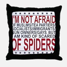 Not Afraid Throw Pillow