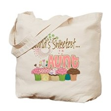 World's Sweetest Aunt Tote Bag