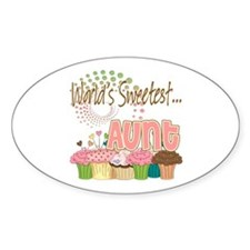 World's Sweetest Aunt Decal