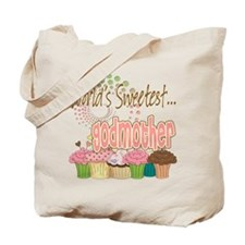 World's Sweetest Godmother Tote Bag