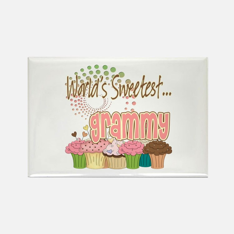 World's Sweetest Grammy Rectangle Magnet