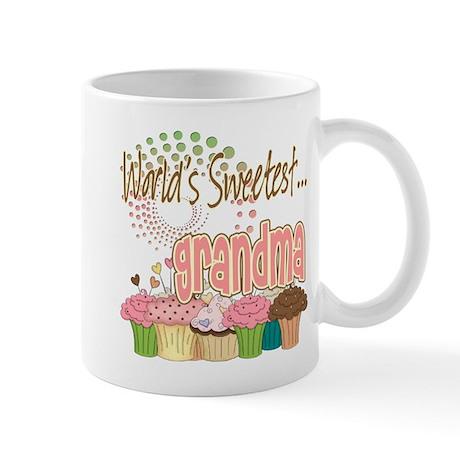 World's Sweetest Grandmother Mug