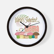 World's Sweetest Mema Wall Clock